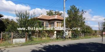 Large house is for sale in the village of Livada, 20 km from the city of Burgas and the sea.