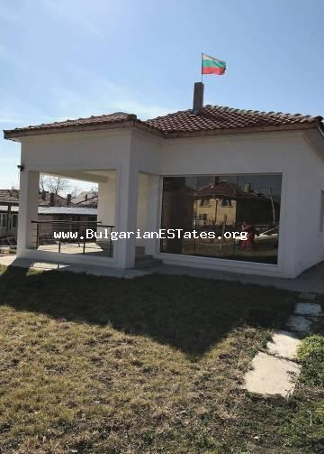 We offer for sale a newly built house in the Cherno more area, city of Burgas.