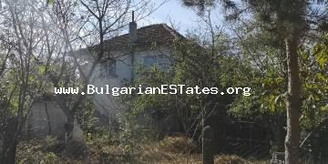 A large two-storey house is for sale in the village of Drachevo, 25 km from Bourgas and the sea.