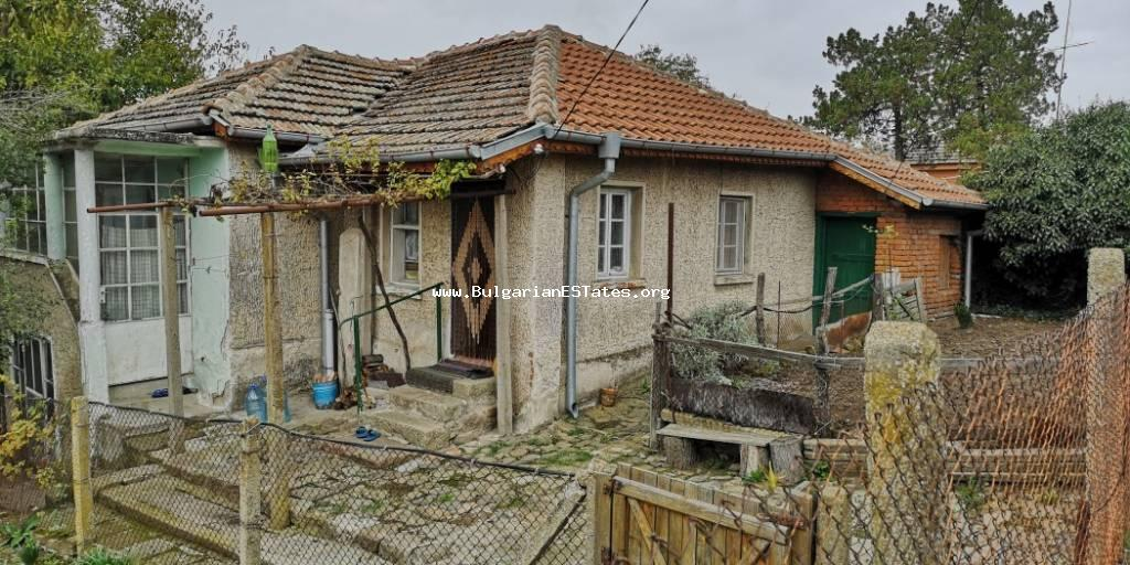 Affordably is offered for sale one-storey house in the village of Debelt, only 20 km from the city of Bourgas.
