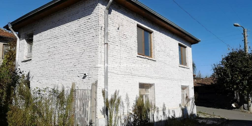 Affordably is for sale a reconstructed two-storey house located in the village of Gramatikovo, 35 km from the sea and the city of Tsarevo.