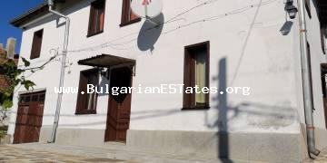 For sale is offered a large renovated two-storey house in the village of Gramatikovo, 35 km from the sea and the town of Tsarevo.