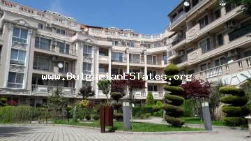 Luxurious one-bedroom apartment is for sale in a residential building in the town of Nessebar, residential area Cherno More - 3, resort Melia 6.