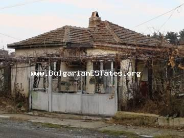 For sale is offered affordably a one-storey house in the village of Debelt, just 20 km from the city of Burgas and the sea.
