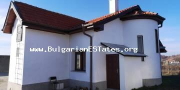 We offer for sale a new two-storey house in the town of Kableshkovo, 20 km away from the city of Bourgas.