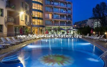 "Cheap one-bedroom apartment is for sale in the complex of ""Black Sea"", Sunny beach, Bulgaria"