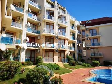 A large two-bedroom apartment is for sale in Starfish complex, Sveti Vlas resort.