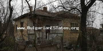 A solid house is offered for sale for an affordable price in the village of Trastikovo, 15 km from the city of Bourgas and the sea.