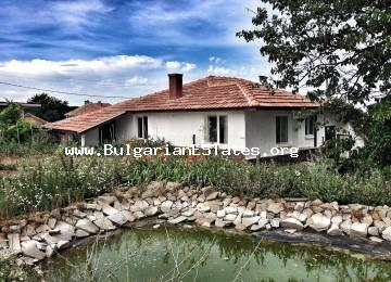 Exclusive offer!!! A house for sale with a huge yard in the village of Kozichino 30 km to the sea and Sunny Beach resort and Nessebar.