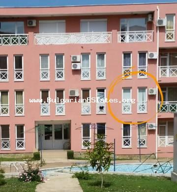 "Very affordable studio for sale in the complex ""Sunny Day 6"", Sunny Beach resort."