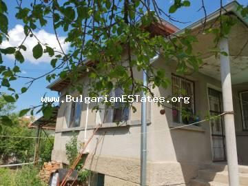 Affordable house is for sale in Asparukhovo village, 27 km from the city of Bourgas and sea.