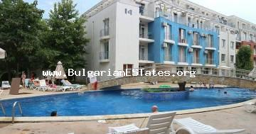 "A very affordable furnished studio in Sunny Beach resort, complex ""Sunny Day 3"", only 900 meters away from the beach."