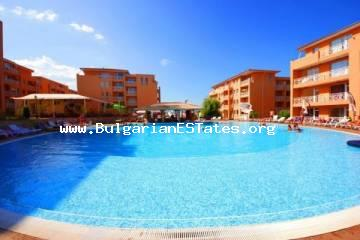 "A very affordable one-bedroom apartment for sale in ""Sunny Day 6"" complex, Sunny Beach resort."