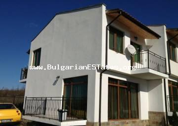 Affordably is offered for sale a new two-storey house in the village of Kosharitsa just a kilometer away from Sunny Beach resort and the sea.