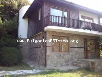 Affordably is offered for sale a new two-storey house in the village of Goritsa, just 25 km from the sea and the resort of Sunny Beach.