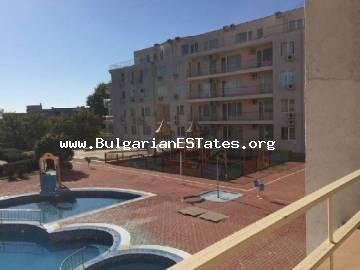 "Inexpensive one-bedroom apartment is for sale with uninterrupted sea views in the ""Sarafovo Residence"", Sarafovo area, city of Bourgas."