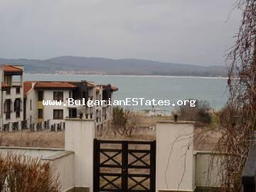 "For sale is a large two-bedroom apartment in the complex ""St. Nikola"", Chernomorets sea town."