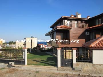 New large three-storey detached house is for sale in Sozopol, 350 meters from the beach and overlooking the sea!!!