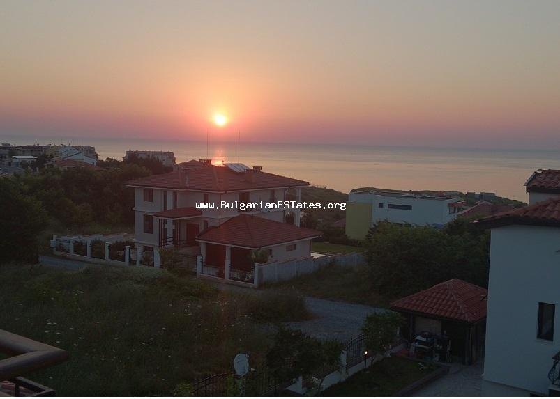 New three-storey detached house is for sale in Budjaka area of the historic town Sozopol, only 300 meters from the beach with a beautiful uninterrupted sea view.