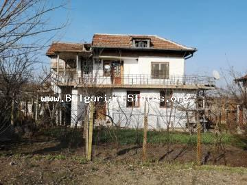 Excellent house is for sale in the village of Trankovo ​​100 km from the coastal city of Bourgas and the international airport.