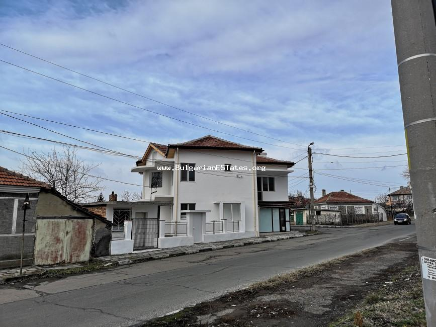 New detached house is for sale in the suburb of Rudnik, the city of Bourgas, only 9 km from the beach.