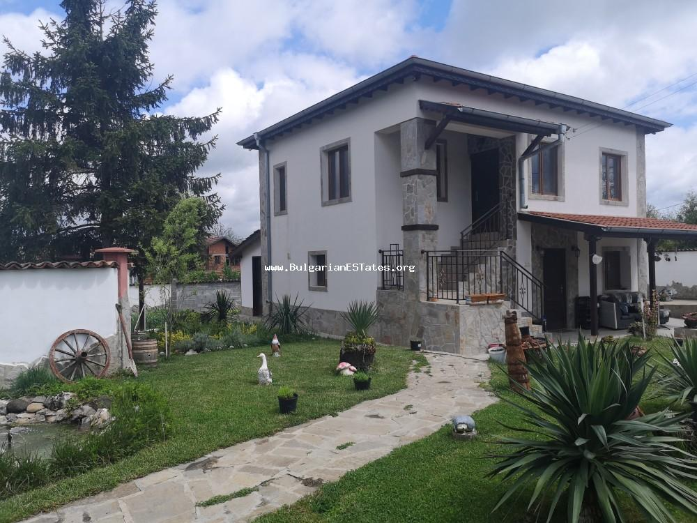 An attractive house for sale in the picturesque village of Strandzha, Momina Tsarkva, 55 km from Bourgas and the sea.