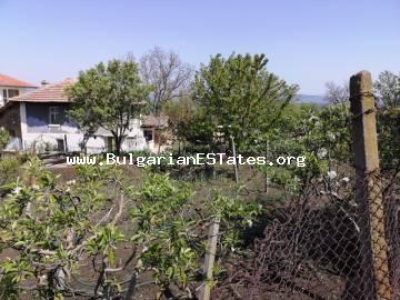 Two-storey house for sale in the village of Medovo, 14 km from Sunny Beach resort and the sea.