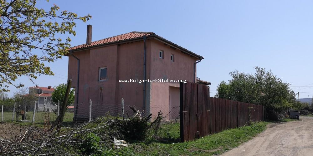 New house is for sale in Prosenik village, 30 km from Sunny Beach and the sea and 40 km from Bourgas.