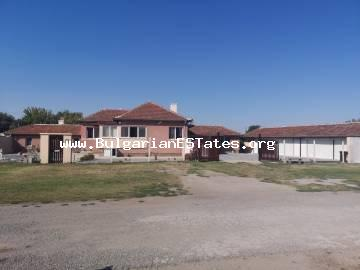 Renovated house with wonderful views for sale in the village of Konevets in 100 km away from the city of Burgas and only 13 km away from the quiet town of Elhovo