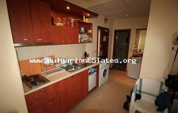 "We offer for sale a furnished, one-bedroom apartment just 300 meters from the beach in Sunny Beach, ""Palazzo"" Complex."