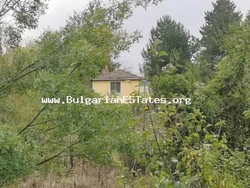 Renovated two-storey house for sale in the village of Draka, 45 km from the town of Burgas and the sea.