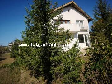 A two-storey house is for sale in the village of Veselie, 30 km from Burgas and only 12 km from the sea.