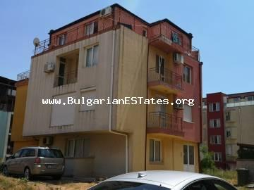 Two bedroom apartment with a large terrace is for sale in Nessebar, Cherno more district.