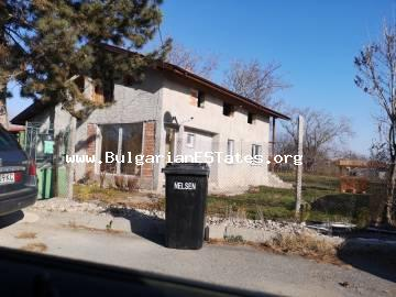 For sale is offered a two-storey renovated house in Cherno More district area, the city of Burgas, just 10 km from the beach.