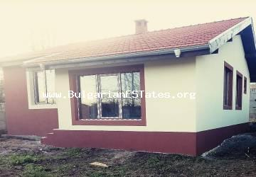 We offer for sale a new house in the village of Marinka, just 5 km from the sea and 10 km from the city of Burgas!!!