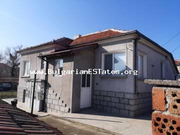 For sale is a renovated house in Rudnik residential area, the city of Burgas, only 10 km from the beach and 15 km from the top city centre.