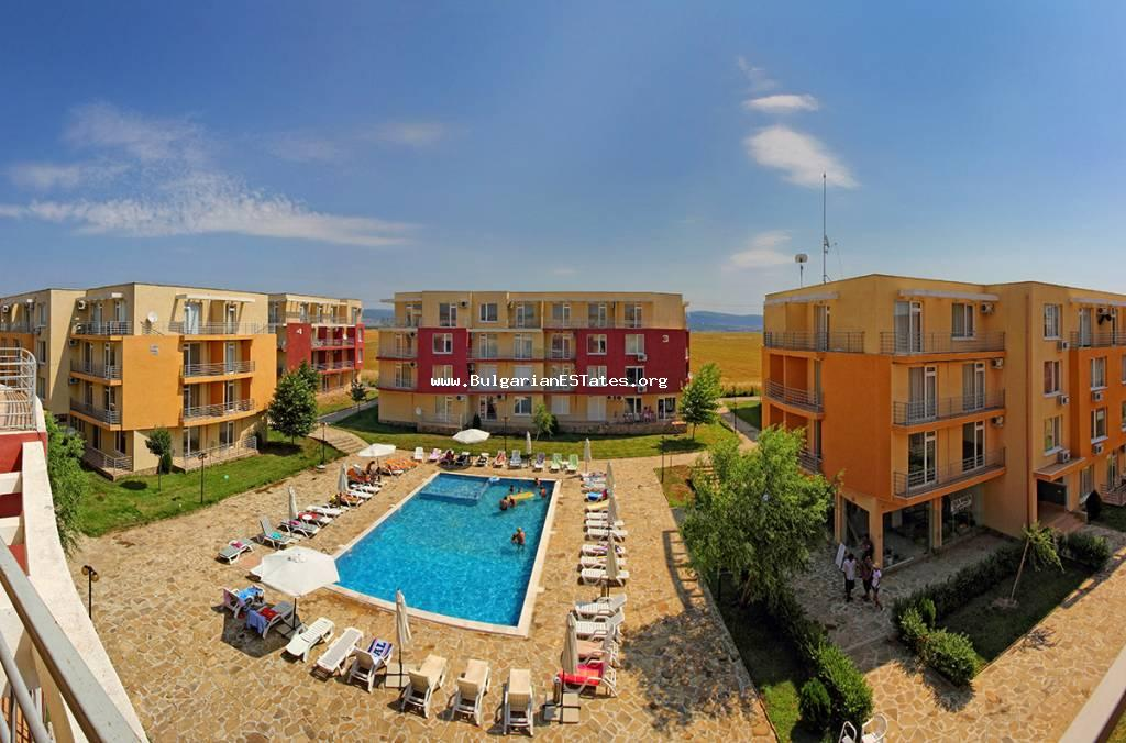 "Affordable offer!!! For sale is one-bedroom fully furnished apartment in the complex ""Sunny Day 5"", in the resort complex Sunny Beach"
