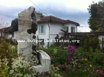 For sale a fully furnished house in the village of Zabernovo, 40 km from the town of Tsarevo and the sea and only 60 km from Burgas, Bulgaria.