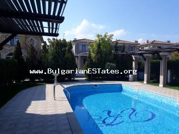 For sale a new, luxurious house in Victoria Garden, just one kilometre from the sea, Sarafovo, Burgas.