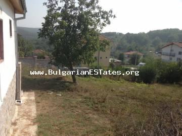 An authentic house with a huge yard is for sale in is the bottom of the most beautiful village in Strandzha Mountains, the village of Pismenovo, just 7 km away from the beautiful beaches of Primorsko.