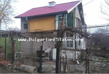 Affordable renovated house is for sale in the village of Zhitosvyat, just 45 km from the sea and the city of Burgas.