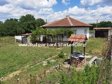 Affordable property is for sale!!! Renovated one-storey house for sale in the village of Stefan Karadzhovo, 70 km from the city of Burgas and the sea.