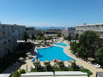 Large two-bedroom apartment for sale, just 150 m from the beach, Sarafovo, Burgas.