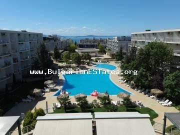 A two-bedroom apartment with sea view for sale and only 150 m from the beach in Sarafovo district, Burgas.