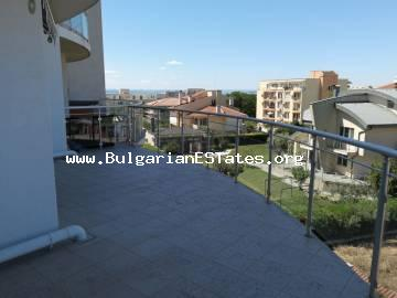 A three-bedroom apartment with sea view for sale and only 150 m from the beach in Sarafovo district, Burgas.