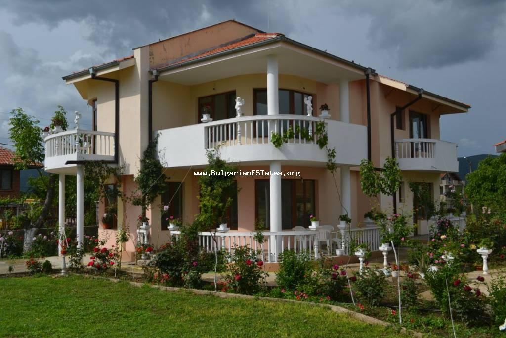 Newly built two-storey house with the possibility of buying a second yard in the centre of the village of Galabets, 18 km from the resort Sunny Beach and 36 km from the city of Burgas.