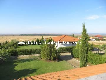 A a new house is for sale in the villa area of Cholakov Cheshma, Kosharitsa, 4 km from the Resort complex Sunny Beach and 35 km from Burgas airport.