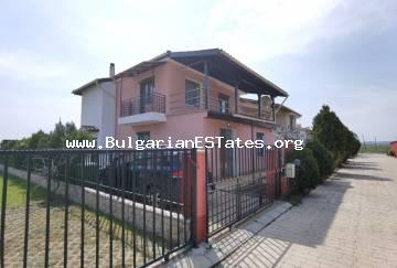 We offer for sale a new house in the village of Gulevtsa, just 15 km from the sea and the resort of Sunny Beach, Bulgaria.