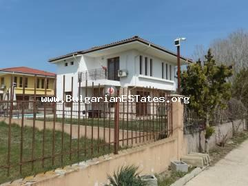 We offer a new two-storey house with a swimming pool in the village of Gyulevtsa, just 15 km from Sunny Beach and the sea.